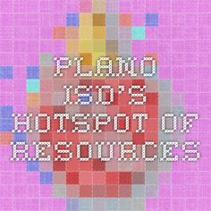 Plano ISD's Hotspot of resources