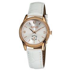 August Steiner Women's Swiss Quartz Watch with Strap