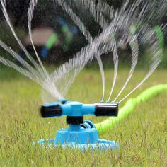 Lawn Garden Greenhouse Automatic 360 Degree Rotary Spray Head Sprinkler Irrigation Watering Supplies