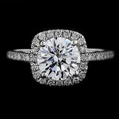 Luxe - Accented Engagement Ring