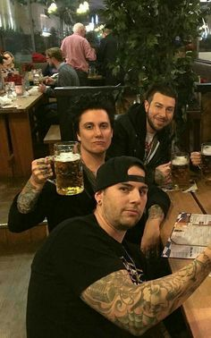 Matt, Brian and Zack #AvengedSevenfold A7X