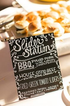 gorgeous signage | Brooke Images #wedding