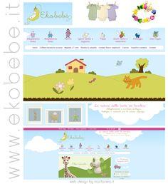 Ekobebe.it e-commerce interamente dedicato a prodotti biologici per la prima infanzia!
