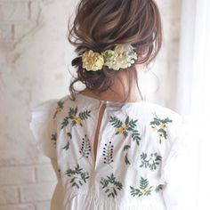 Japanese Hair Style Cute Hairstyle Flowers I Pin By Ak Warinda