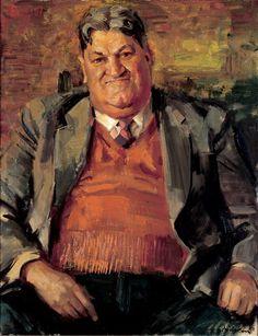 William Pidgeon: Mr Ray Walker :: WINNER Archibald Prize 1958 :: Art Gallery NSW