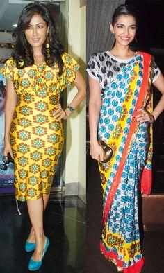 Chitrangada Singh and Sonam Kapoor #Bollywood #Fashion