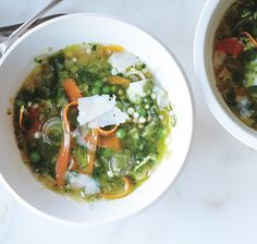 This is a satisfying vegetarian dinner made in 30 minutes! Suggested Boards: Vegetarian, Minestrone, Soup, Recipes