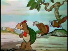 Teaching discipline and diligence: The Tortoise and the Hare (Disney 1934) (to go with Babar, To Duet or Not To Duet)