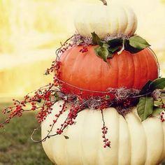 Beautiful fall decoration!