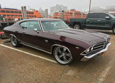 Do you ever feel like classic cars just have more soul? Jimmy's awesome '69 #Chevelle rides on Wilwood disc brakes, 275/30ZR19 & 345/30ZR19 Michelin Pilot Super Sport tires, and 19x9.5/19x12 #Forgeline #CR3 wheels finished with Satin Gunmetal centers & Po