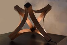 Easily make this lamp with a few simple tools.