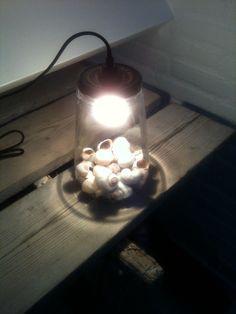 Selfmade lamp