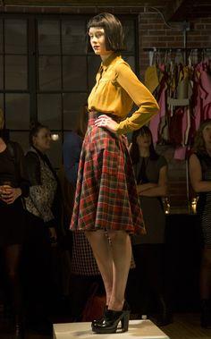 Annie 50 | Automne-hiver 2014-2015 #modeMtl Tartan, Annie, Texture, Collection, Style, Fashion, Fall Winter 2014, Moda, La Mode