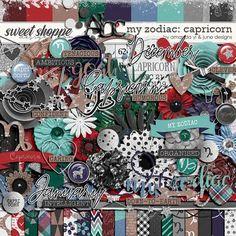 My Zodiac - Capricorn by Amanda Yi & Juno Designs