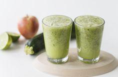 Juice med squash, fennikel, bladselleri, lime og æble