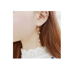 Grace Jun Fashion Rhinestone CZ Long Clip on Earrings Without Piercing for Gril's Party Wedding Charm Needn't Ear Hole Earrings-in Clip Earrings from Jewelry & Accessories on Aliexpress.com | Alibaba Group
