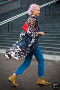 STYLE DU MONDE / Paris Fashion Week FW 2016 Street Style: Olga Karput  #Fashion, #FashionBlog, #FashionBlogger, #Ootd, #OutfitOfTheDay, #StreetStyle, #Style