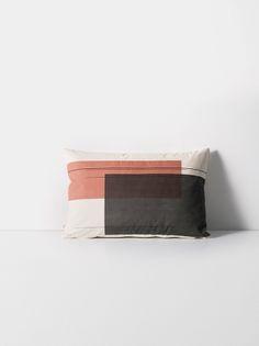 Colour Block Cushion - Large - 1