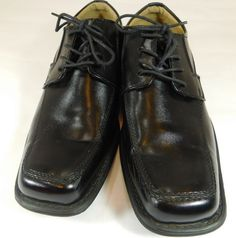 Mens GH BASS CO Amherst Size 8.5W Black Oxfords Shoes  #GHBassCo #Oxfords