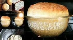 In need of an amazing peasant bread recipe? This no-knead bread emerges spongy and moist with a delectable, buttery crust. Bread Recipes, Cooking Recipes, Peasant Bread, Biscuit Bread, Oreo Brownies, No Knead Bread, Homemade Butter, Easy Bread, Artisan Bread