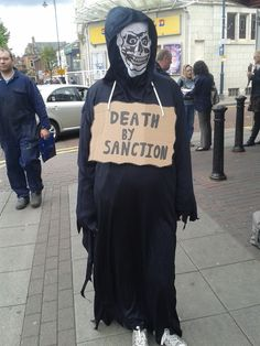 The low levels that Ashton Jobcentre will go to to sanction people. thepoorsideoflife.wordpress.com 23 week pregnant woman sanctioned. The above woman (wearing costume so the Jobcentre staff don't recognise her) was sanctioned when 23 weeks pregnant. The reason