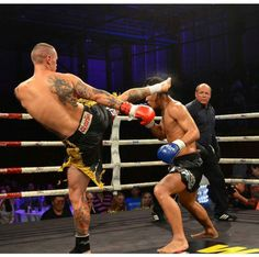 My son Joe doing what he does damn well during his bout in the NZ vs China fight night
