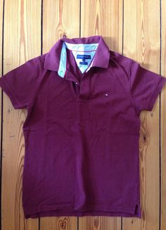 Kup mój przedmiot na #vintedpl http://www.vinted.pl/odziez-meska/koszulki-z-krotkim-rekawem-t-shirty/10211829-bordowa-koszulka-polo-tommy-hilfiger