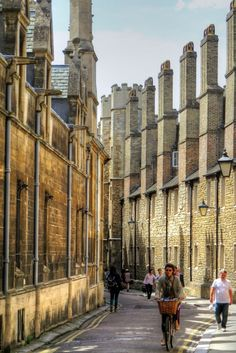 Trinity Lane, Cambridge, England