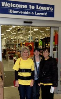 The IL Right to Know GMO group delivered Halloween cards to Lowe's in Arlington Heights, IL to ask the store to stop selling bee-killing pesticides.
