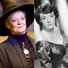Happy Birthday to Dame Maggie Smith!🎈 comment your favorite McGonagall quote💬 Harry Potter Cosplay, Harry Potter Cake, Harry Potter Movies, Australian Actors, British Actors, Maggie Smith Young, Yer A Wizard Harry, Young Actors, Harry Potter Universal
