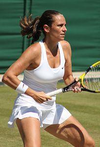 Roberta Vinci al Torneo di Wimbledon del 2014