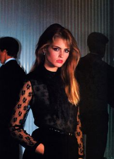 Chris Von Wagenheim for American Vogue, November 1980.