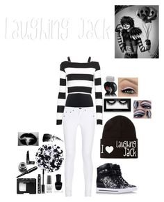 """""""Laughing Jack outfit!"""" by i-already-dug-my-grave ❤ liked on Polyvore featuring Ralph Lauren, Nadia Tarr, rag & bone, Marc by Marc Jacobs, Carhartt, Deborah Lippmann, OPI, NYX, NARS Cosmetics and Rimmel"""