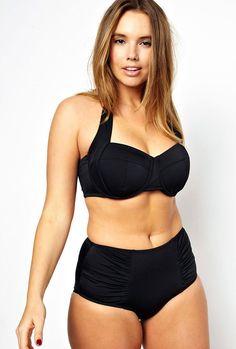 ASOS Curve High Waisted Bikini