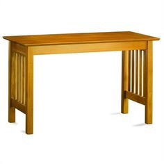 Lowest price online on all Atlantic Furniture Mission Work Table in Caramel Latte - AH11217