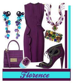 """""""Florence"""" by rellenj ❤ liked on Polyvore featuring Cartier, Elie Saab, KOTUR and Chanel"""