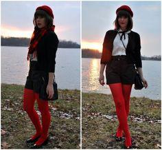 Meia-calça vermelha http://vilamulher.terra.com.br/meiacalca-com-sapatilhas-combinar-sem-errar-14-1-32-1355.html
