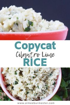 This cilantro lime rice recipe is a flavorful, and inexpensive copycat recipe to Qdoba's cilantro lime rice. You can easily make this restaurant dupe at home at nearly a third of the cost!