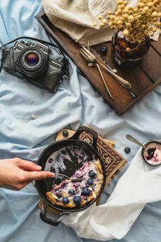 Palacinky s čučoriedkami / Blueberry pancake