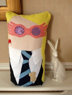 Harry Potter Theme Character Cushions by maxandmillieart on Etsy
