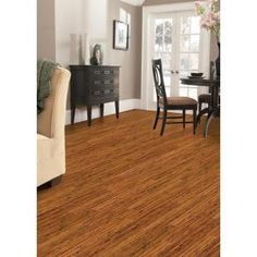 Home Legend Hand Scraped Strand Woven Antiqued 3/8 in. Thick x 5-1/8 in. Wide x 36 in. Length Click Lock Bamboo Flooring-HL215H at The Home Depot