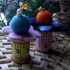 Felted Pin Cushions