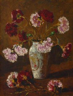 Fine Arts School, Art School, Peasants' Revolt, Carnations, Art World, Impressionism, Art History, Oil On Canvas, Flowers