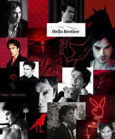 The Vampire Diaries, Damon Salvatore Vampire Diaries, Ian Somerhalder Vampire Diaries, Vampire Diaries Wallpaper, Vampire Diaries The Originals, Badass Aesthetic, Red Aesthetic, Mermaid Zombie, Daimon Salvatore