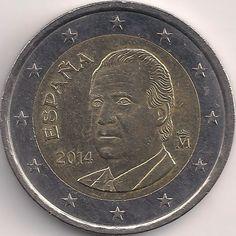 Motivseite: Münze-Europa-Südeuropa-Spanien-Euro-2.00-2010-2014