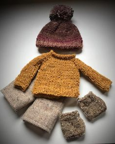 """28 Likes, 1 Comments - Jacqui Ellerton (@waldorfdollmaker) on Instagram: """"Just finished the clothes for my new little boy  #knitted #waldorfdoll #waldorf #wip…"""""""