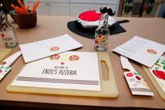 Festa infantil: Pizza - Bagagem de MãeBagagem de Mãe