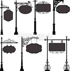 old fashion street sign - Google Search