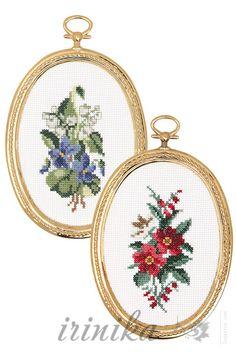 (1) Gallery.ru / Фото #2 - , - irinika / kwiatki w owalnych ramkach 1/3