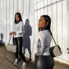 Swag Outfits For Girls, Dope Outfits, Winter Outfits, Summer Outfits, High Fashion Outfits, Girls Fashion Clothes, Girl Fashion, Skinny Fashion, Grown Women
